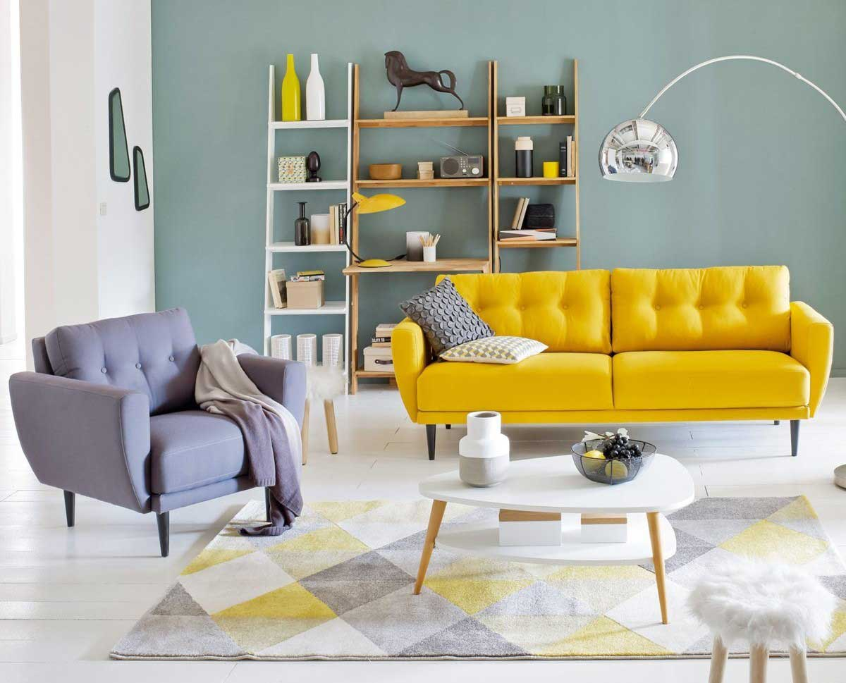 salon la redoute int rieurs. Black Bedroom Furniture Sets. Home Design Ideas