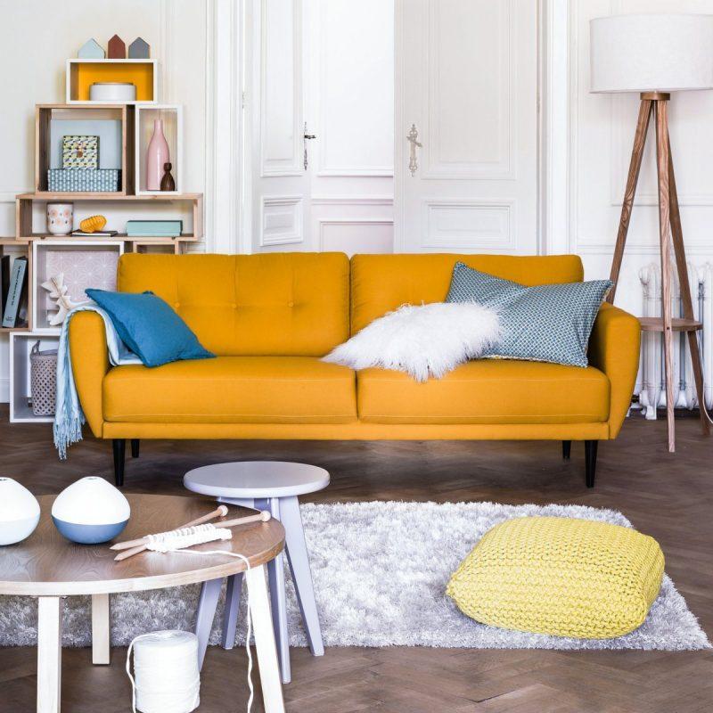 canap orange la redoute int rieurs. Black Bedroom Furniture Sets. Home Design Ideas