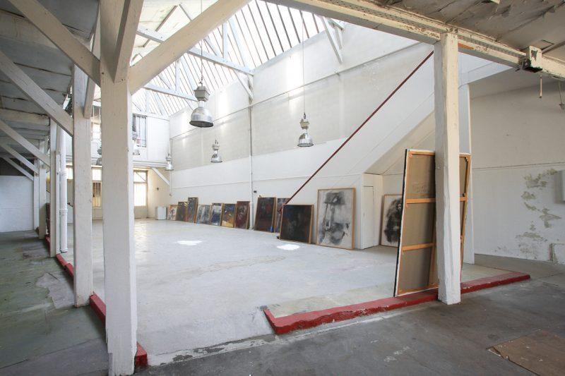 Surface à transformer en loft à Paris 13