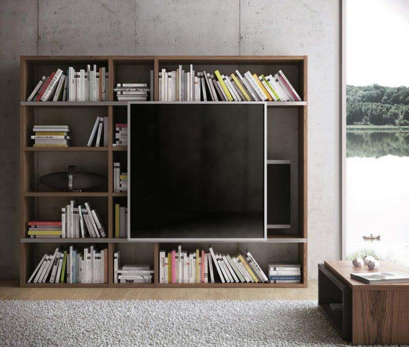 47 id es d co de meuble tv - Meuble tv et bibliotheque ...