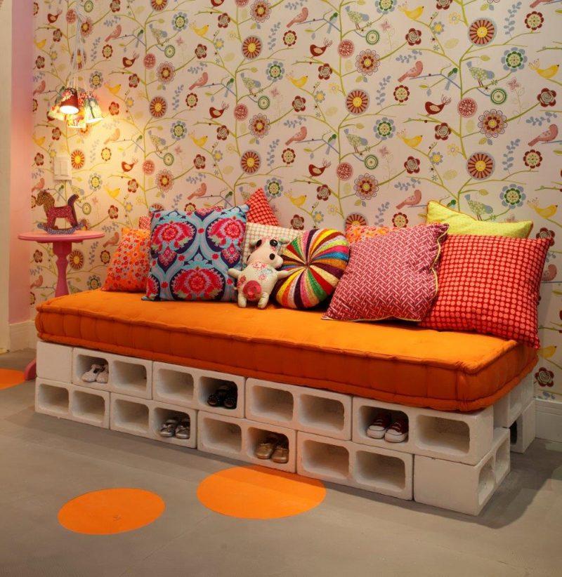 DIY : un canapé en parpaing