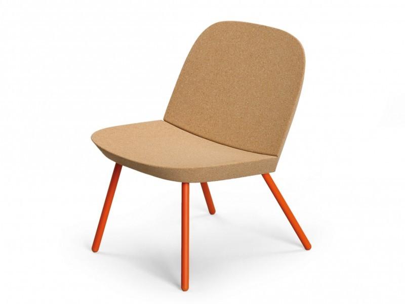 latest fauteuil en lige et mtal with tabouret bouchon liege. Black Bedroom Furniture Sets. Home Design Ideas