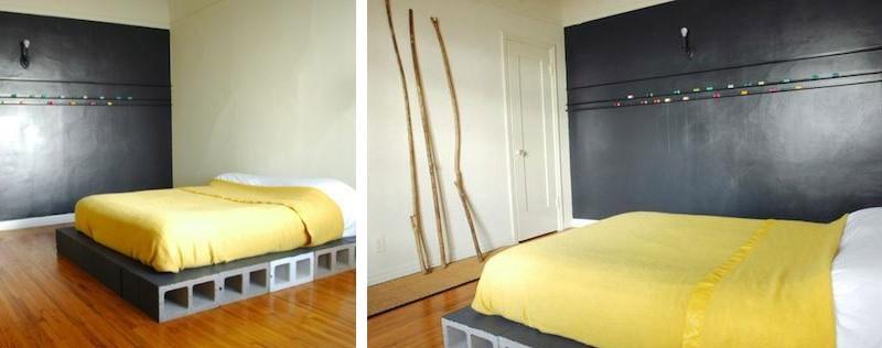 20 diy d co avec des parpaings. Black Bedroom Furniture Sets. Home Design Ideas