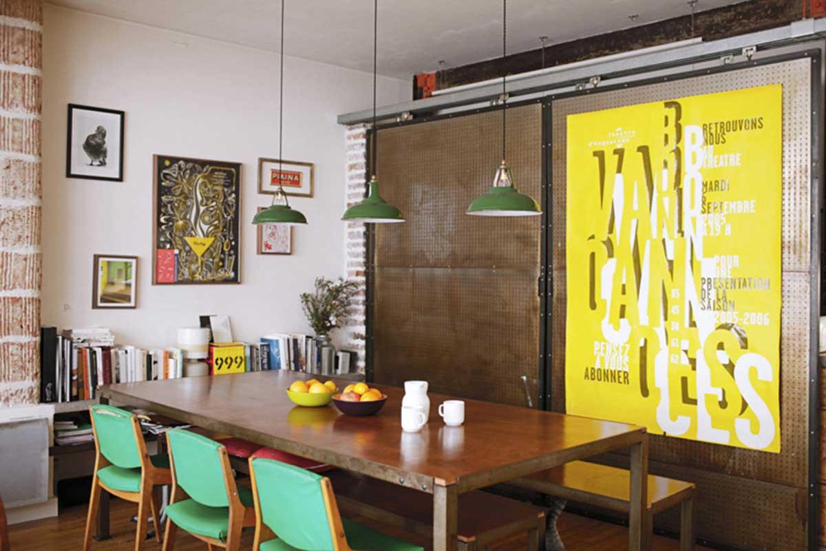 Petit loft à louer à Paris sur Airbnb