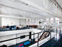 Loft à New York dans une ancienne salle de basketball