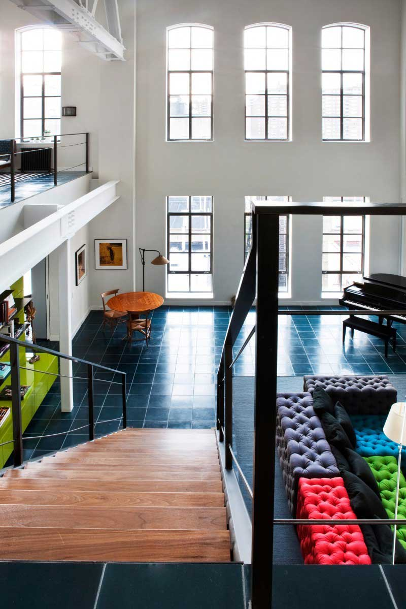 Loft new york dans une ancienne salle de basketball for Loft new york affitto