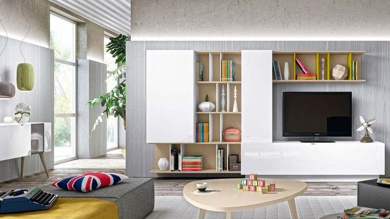 52 id es d co de meuble tv. Black Bedroom Furniture Sets. Home Design Ideas
