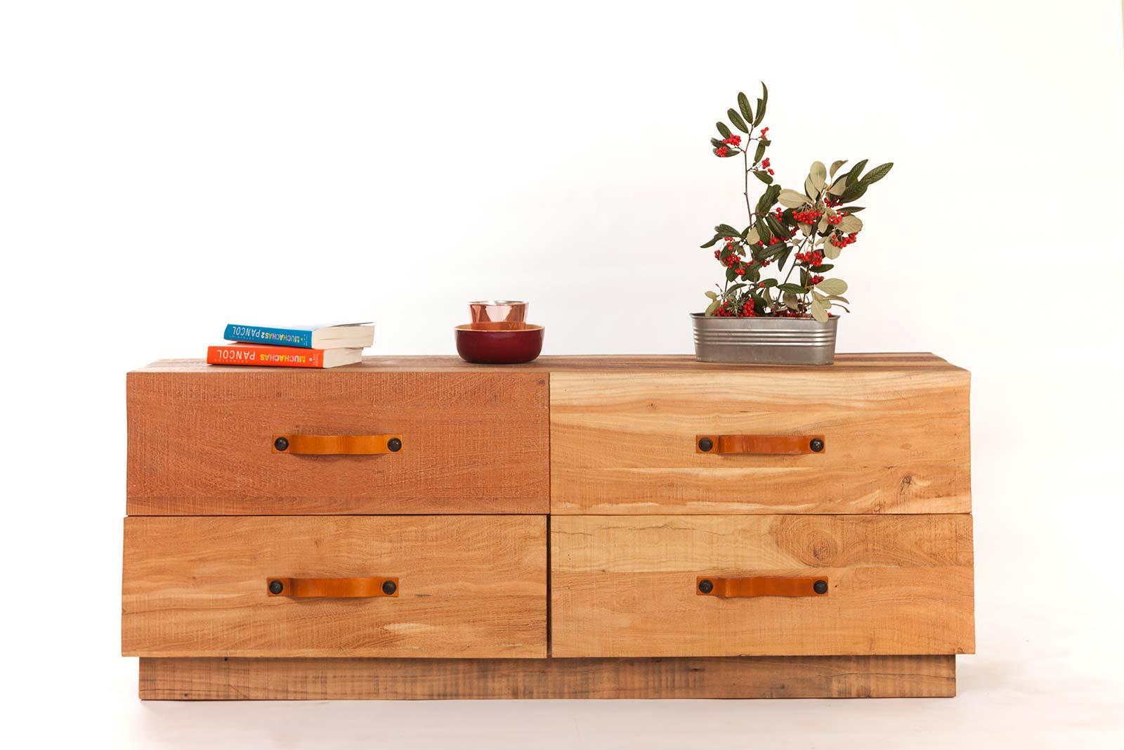 meuble tv 4 tiroirs. Black Bedroom Furniture Sets. Home Design Ideas