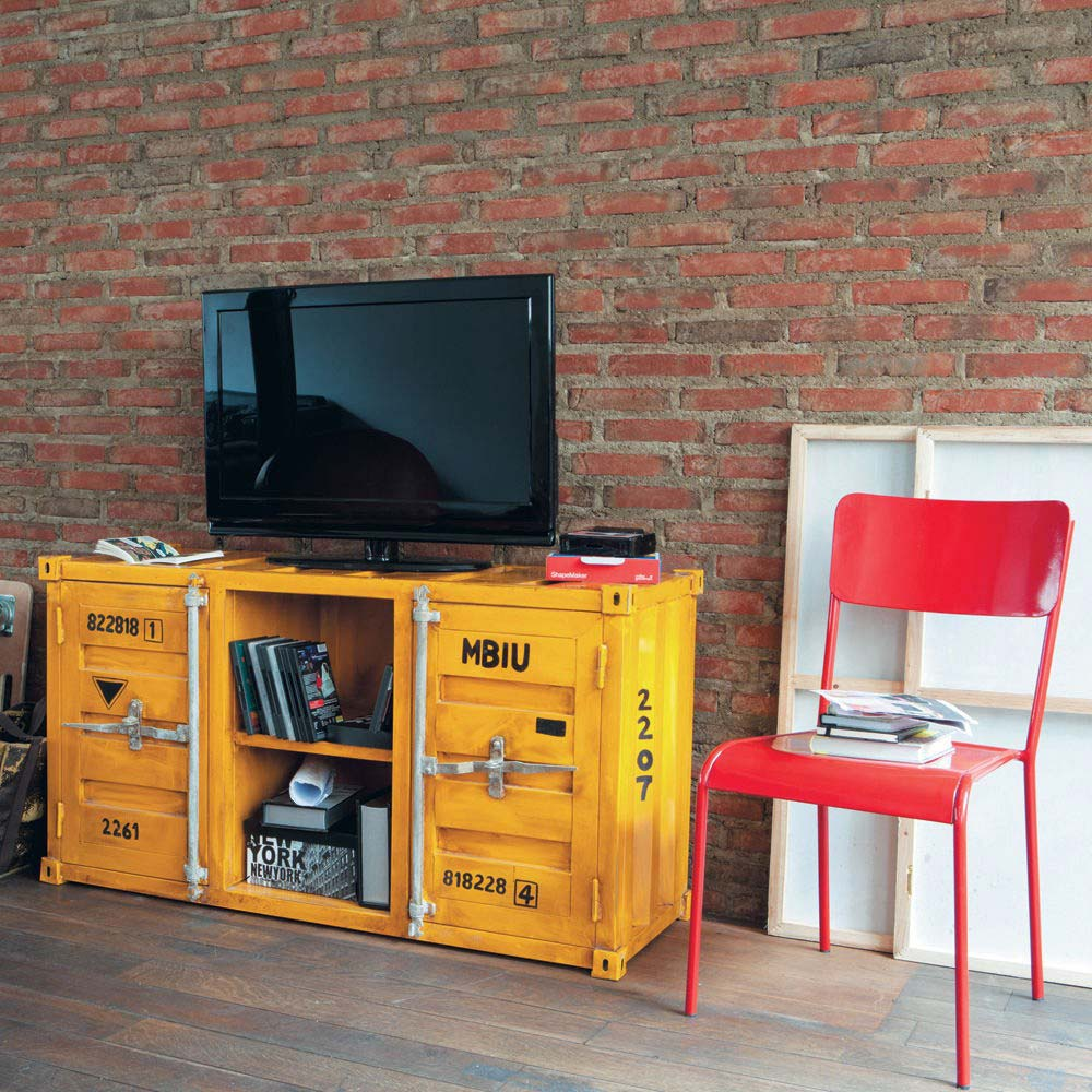 meuble tv au design original. Black Bedroom Furniture Sets. Home Design Ideas