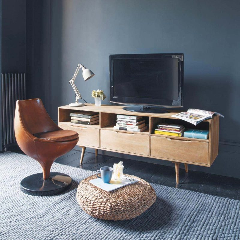 meuble tv vintage maisons du monde. Black Bedroom Furniture Sets. Home Design Ideas