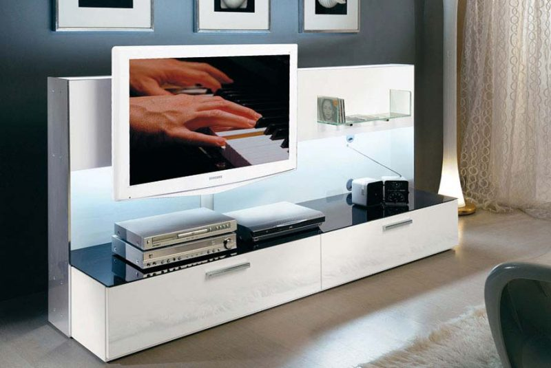 47 id es d co de meuble tv - Grand meuble tv design ...