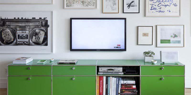 Meuble TV USM vert