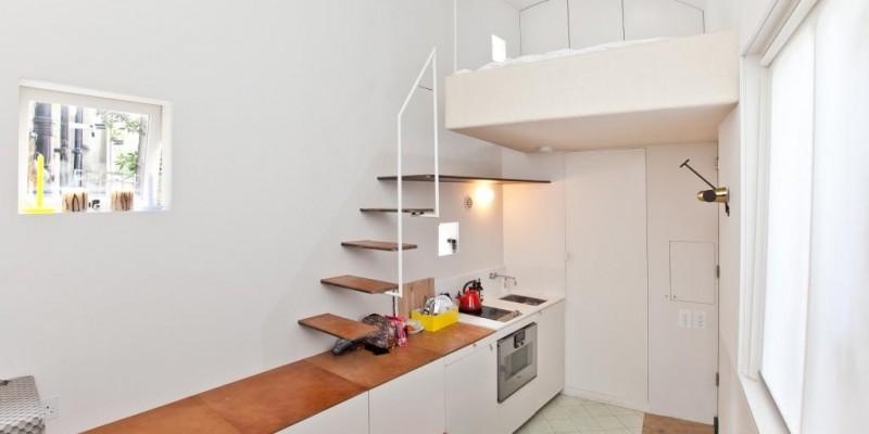 Aménagement optimisé d'un petit espace