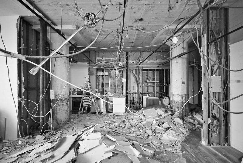 Surface brute à transformer en loft à New York