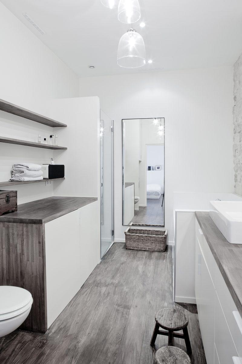 Salle de bains du loft