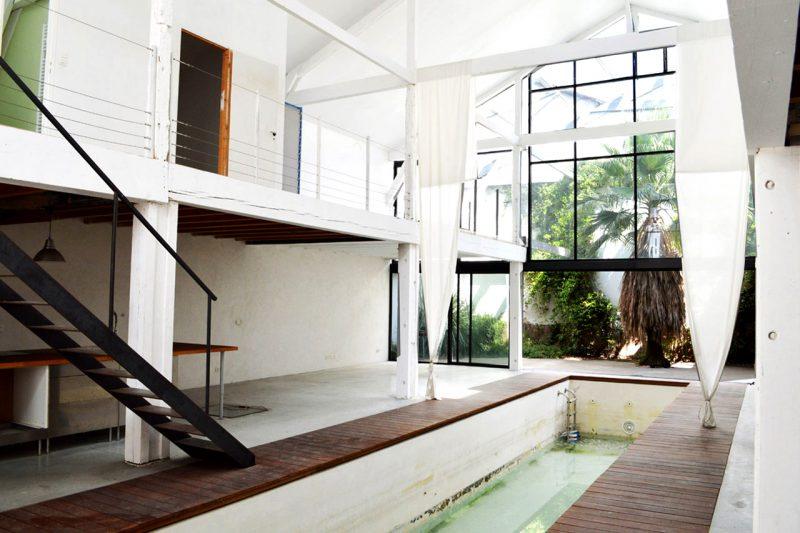 Couloir de nage intérieur