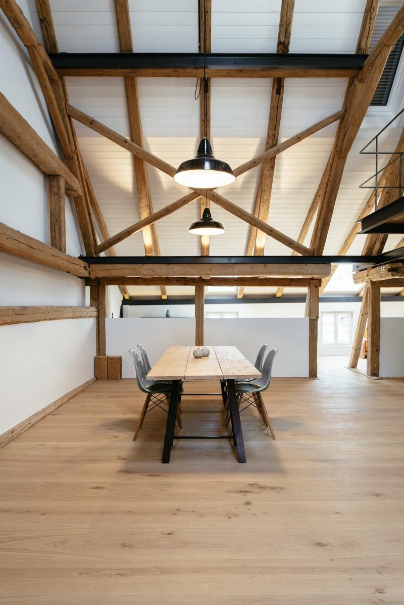 R novation d 39 un corps de ferme en bavi re for Architecte renovation ferme