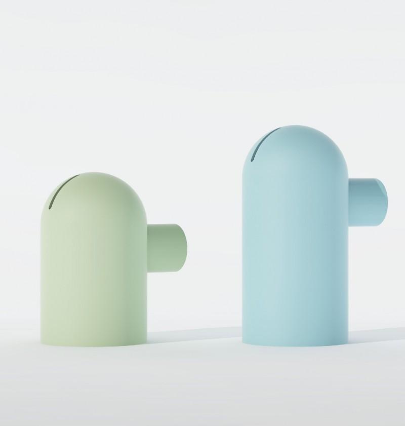 Tirelire au design moderne en céramique