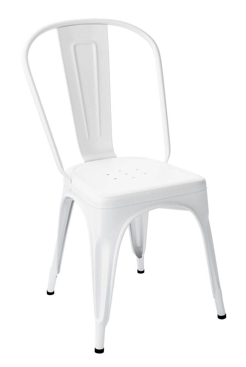 Chaise Tolix A Blanc-Neige