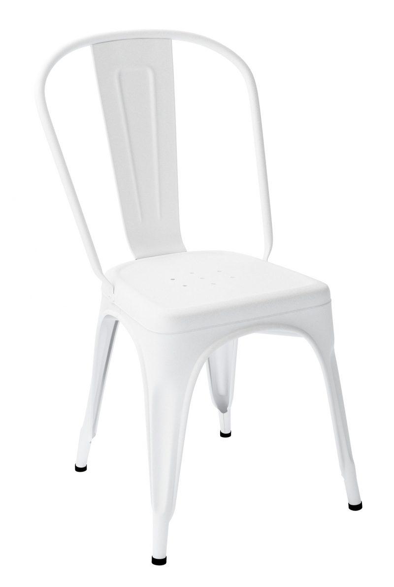 Chaise Tolix A Blanc Texture