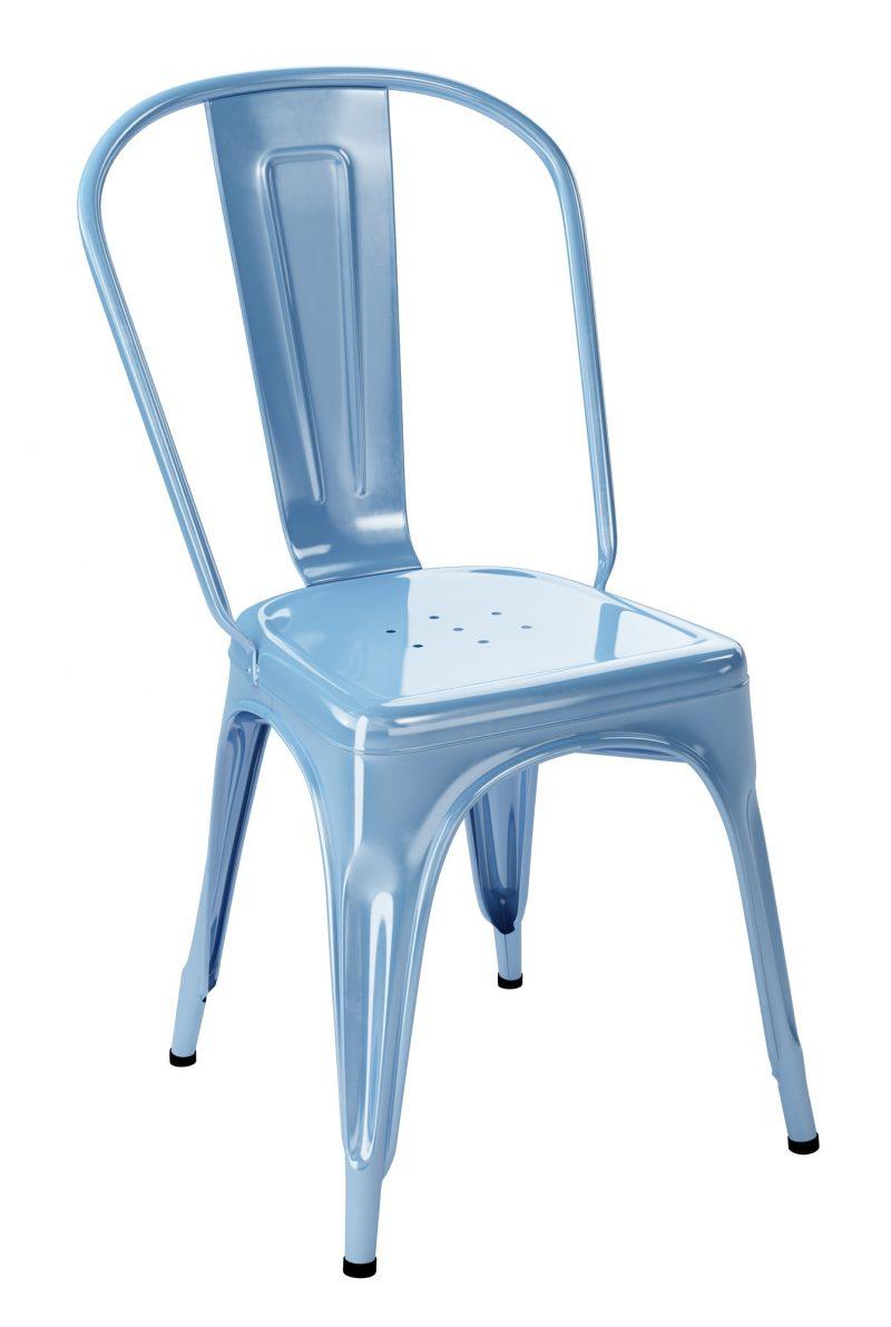 chaise tolix a bleu azure. Black Bedroom Furniture Sets. Home Design Ideas