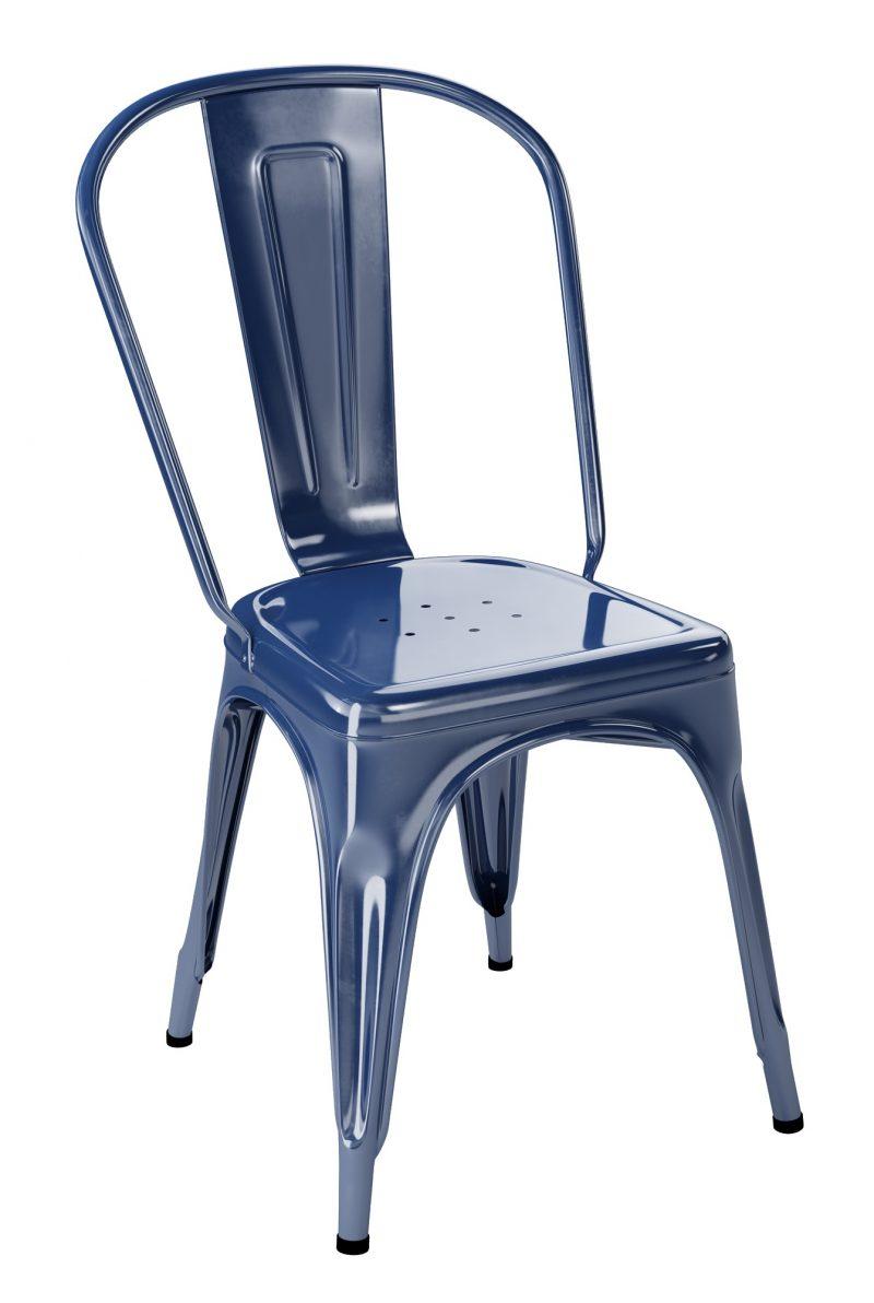 Chaise Tolix A Bleu Saphir