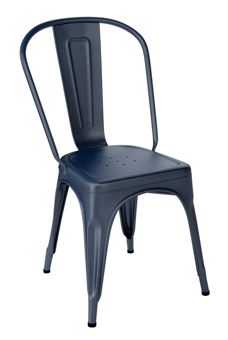 Chaise Tolix A Bleu Xenon
