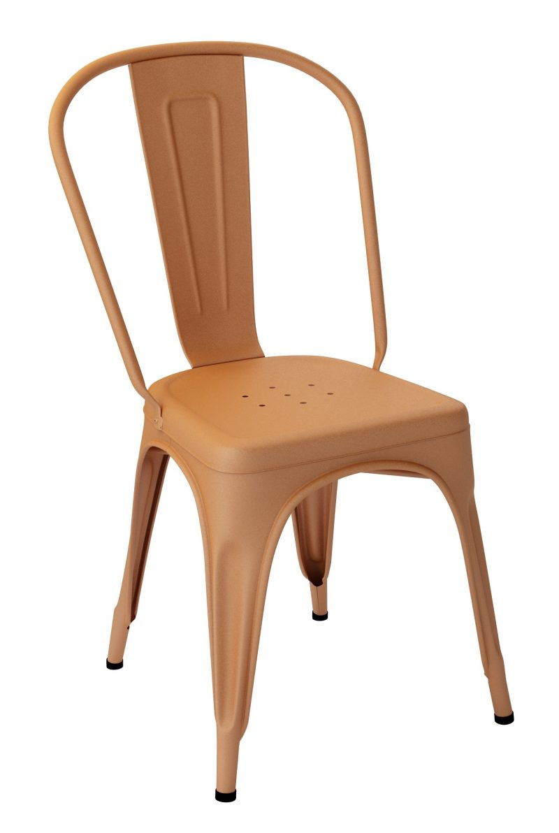 Chaise Tolix A Caramel