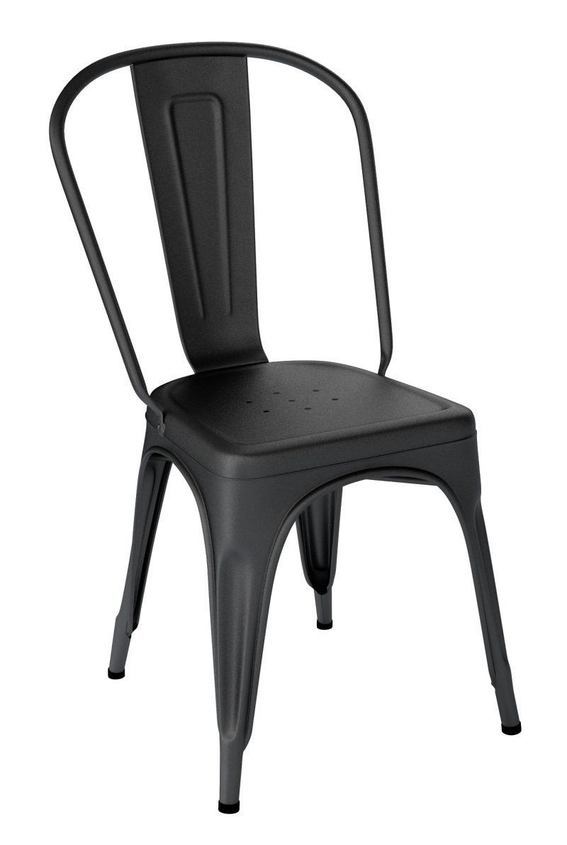 Chaise Tolix A Noir Texture