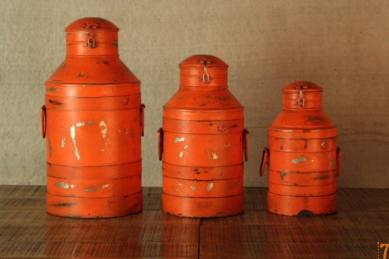 Boites oranges