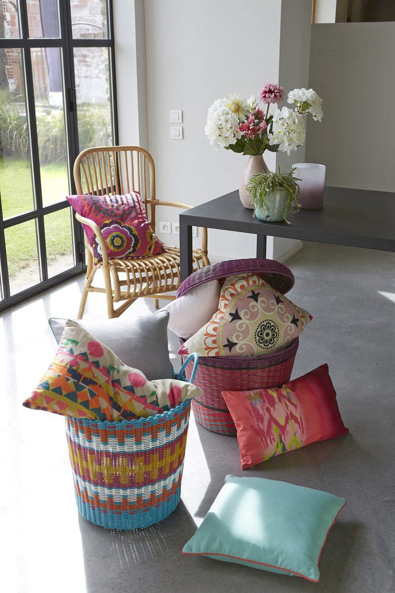 coussins la redoute int rieur. Black Bedroom Furniture Sets. Home Design Ideas