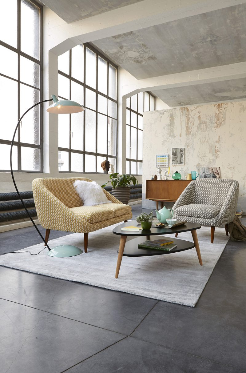 Salon dans un loft la redoute int rieur for Deco interieur 2015