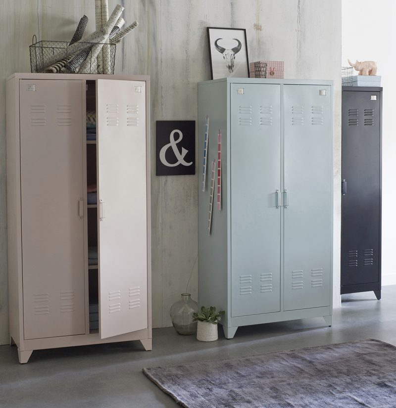 vestiaire en m tal la redoute int rieur. Black Bedroom Furniture Sets. Home Design Ideas