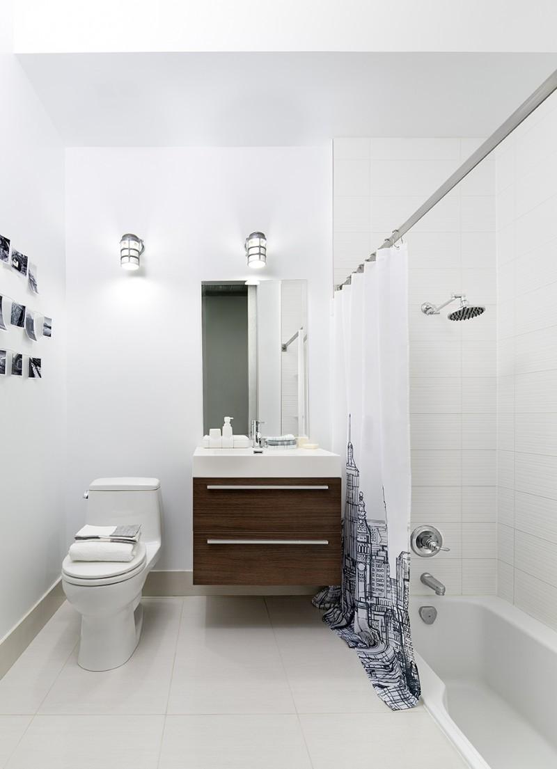 Déco d'une petite salle de bains