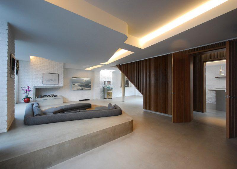 loft dans un ancien atelier de m canique londres par patalab architecture. Black Bedroom Furniture Sets. Home Design Ideas
