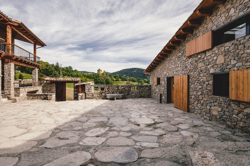 Rénovation d'une ferme en loft