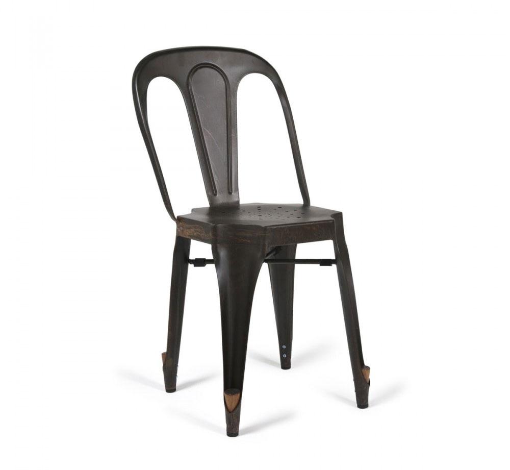 chaise vintage industrielle. Black Bedroom Furniture Sets. Home Design Ideas