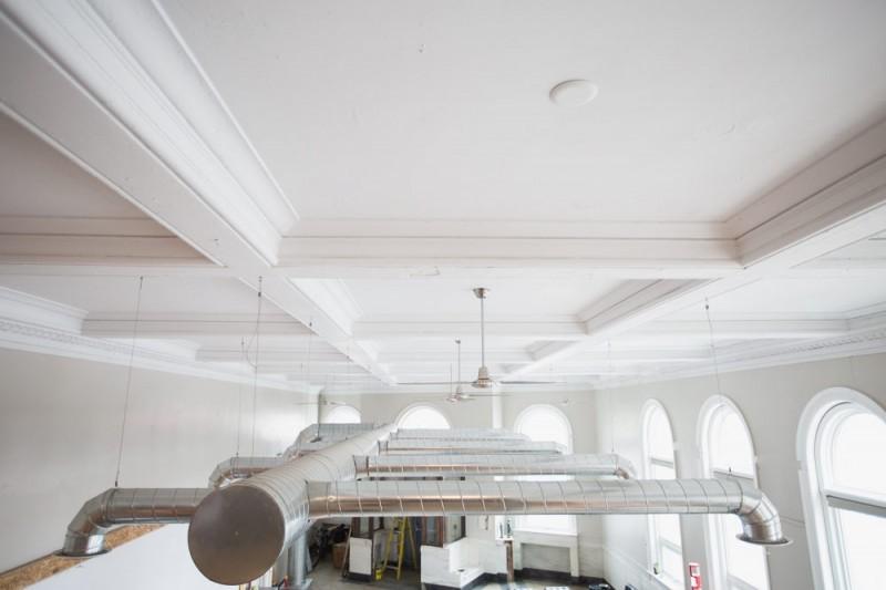 Système de ventilation apparent