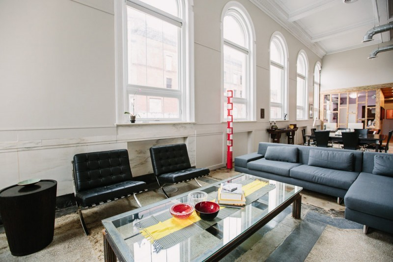 Salon avec fauteuil Barcelona