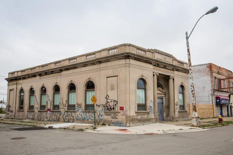 Batiment transformé en loft à Détroit