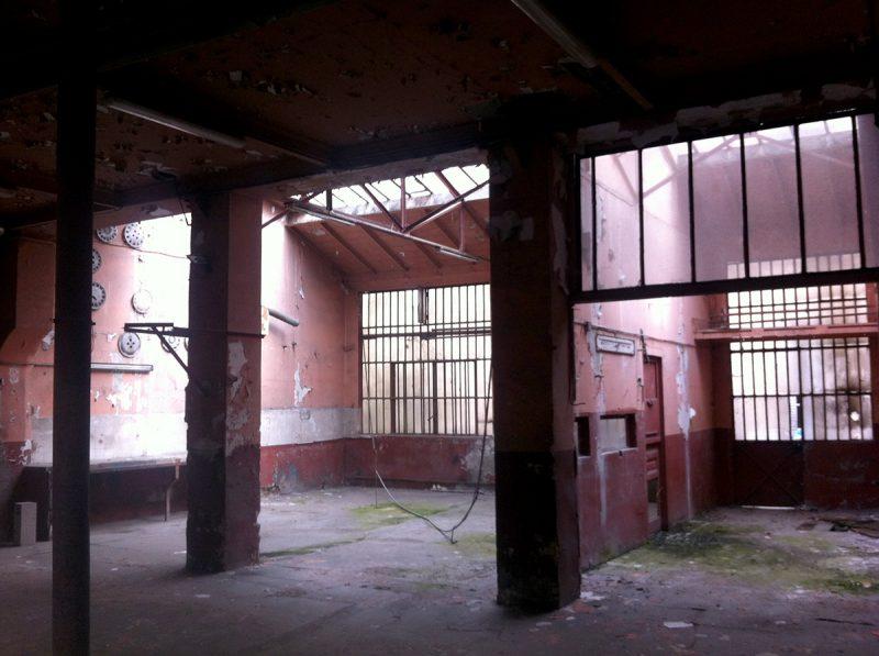 Le loft avant les travaux de rénovation
