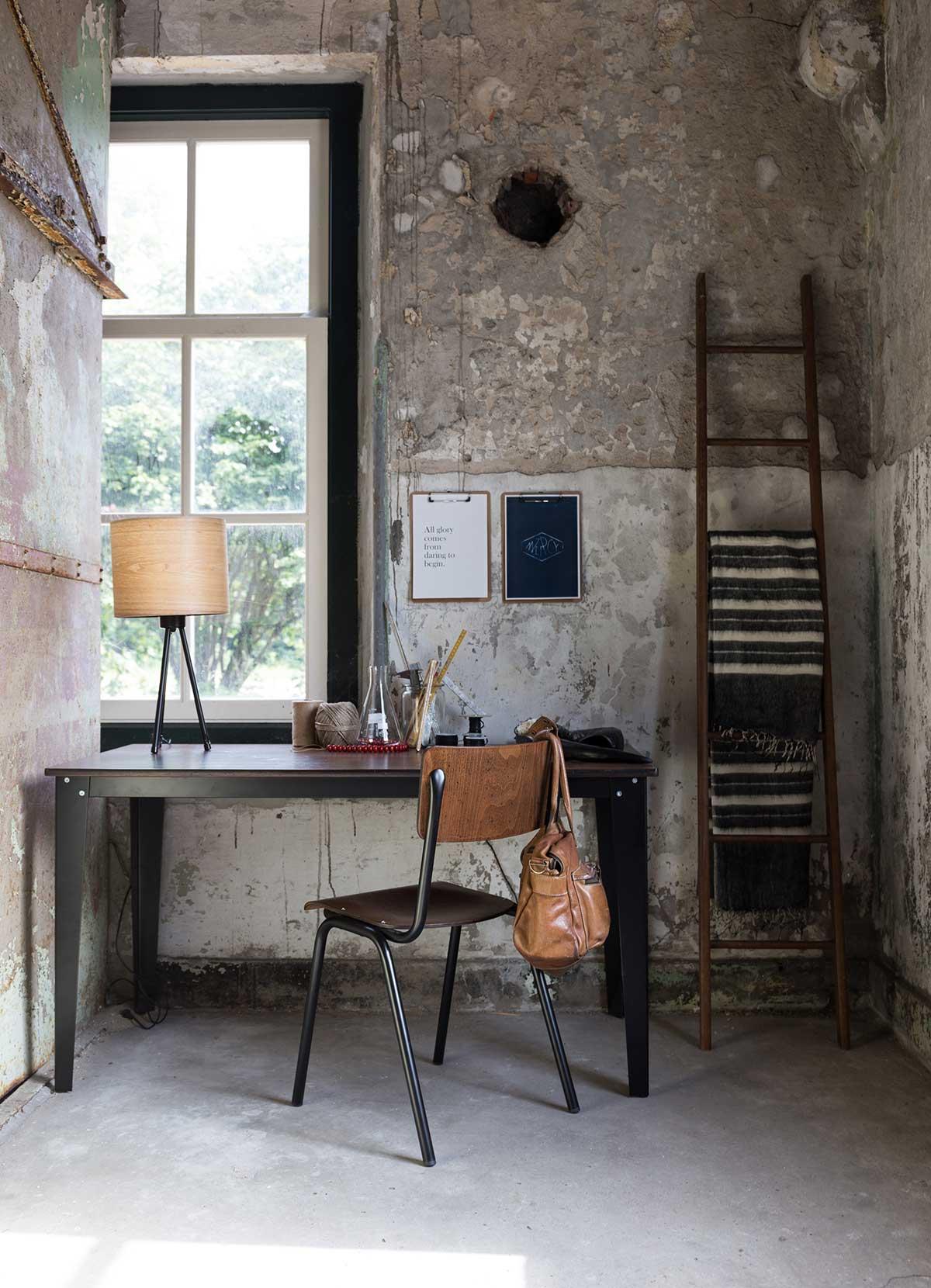 Chaise de bureau vintage Dutchbone