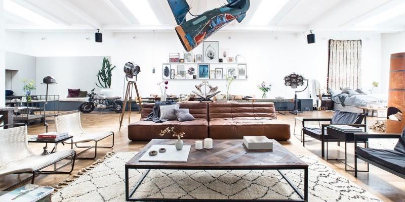 Loft amsterdam loft atelier plateau surface vendre ou louer - Appartement a vendre a amsterdam ...