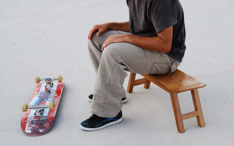 43 idées déco avec des planches de skateboard banc skateboard par skate home