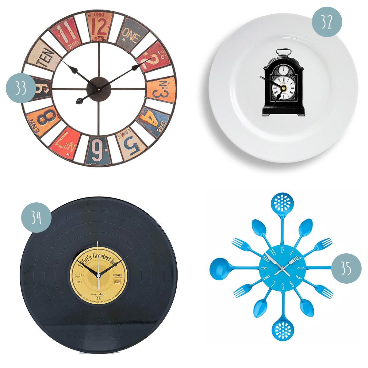 Horloges murales for Horloge eames