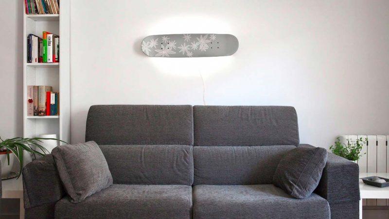 DIY applique skateboard