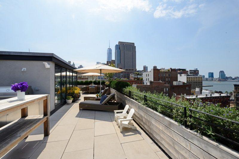 Loft avec terrasse de toit à New York