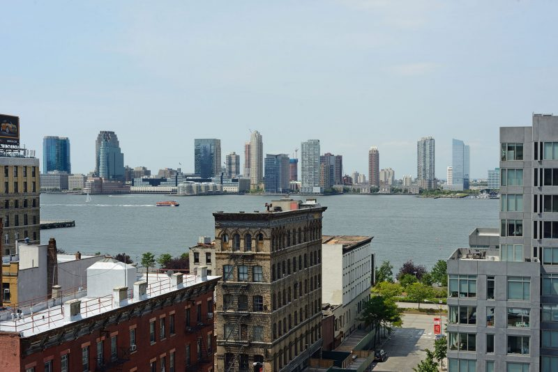 Entrepot transformé en loft à New York