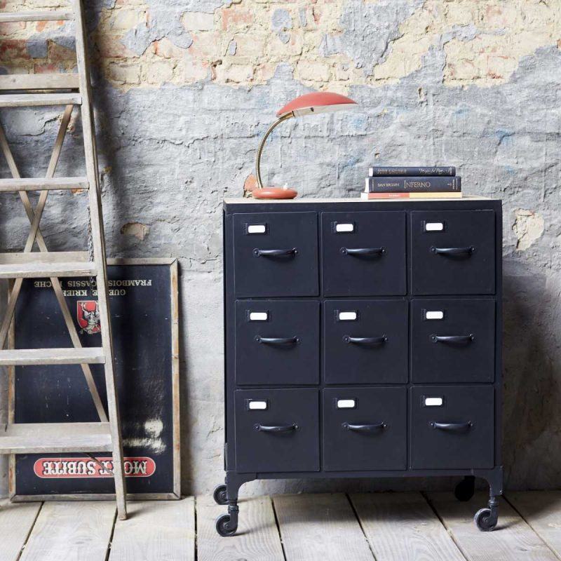 le style industriel par tikamoon. Black Bedroom Furniture Sets. Home Design Ideas