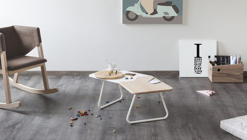 Table basse tordue